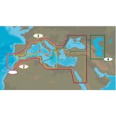 Mapa: 2, South Mediterranean Sea and Aegean Sea