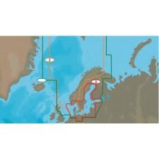 Mapa: 2, North Sea and Denmark