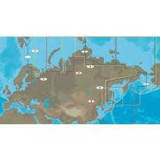 Mapa: 2, Russian Federation - Northwest