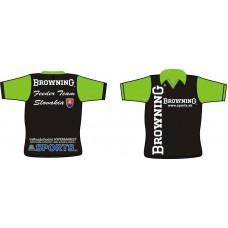 Profesionálny rybársky feeder dres Browning