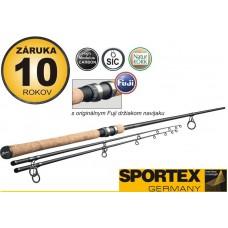 Rybársky prút SPORTEX - EXKLUSIVE Barbel - dvojdielny