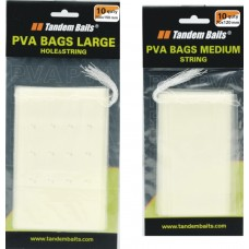 PVA  sáčky  Medium perforované s niťou 70x120mm/10ks