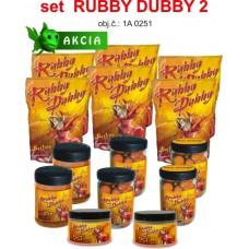 Atraktívny obchodnícky set boilies Rubby Dubby