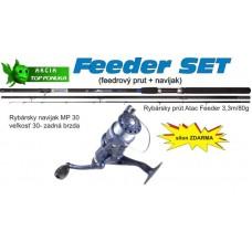 Akcia feeder 3,3m/80g + feeder navijak zadná brz. +silo