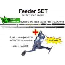 Akcia feeder 3,6m/100g +feeder navijak zadná brz. +silo
