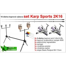 Kaprársky set 2K16 - 2diel/3,6m/3lbs