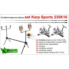 Kaprársky set 235K16 - 2diel/3,6m/3,5lbs/