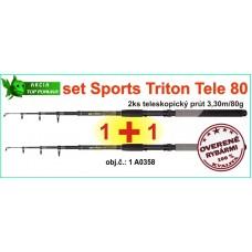 SPORTS CARP TELE SET Triton T2: 2x 3,3m/80g