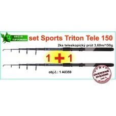 SPORTS CARP TELE SET Triton T2: 2x3,6m/150g