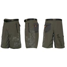 SWIMMY šortky  GEOFFAnderson zeleno šedé XS