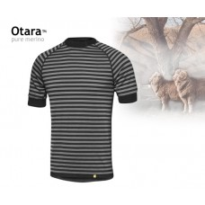 GEOFF spodné prádlo OTARA 195 T-shirt (pásik)