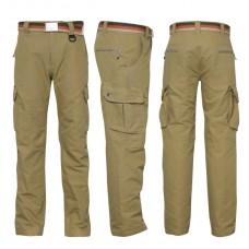 COMBAA športové nohavice GEOFF Anderson khaki XS