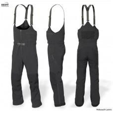Wakasazhi rybárske nohavice čierne