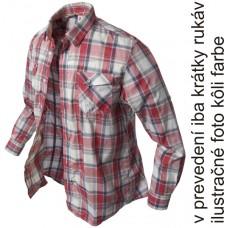 krátka košeľa Banga (red checkered) s/s