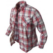 dlhá košeľa Banga (red checkered) l/s