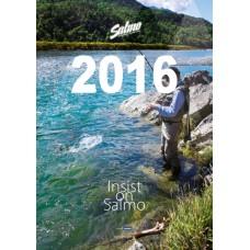 Rybársky nástenný kalendár SALMO 2016