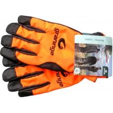 Poľovnícke koženné rukavice HUNTING G6035
