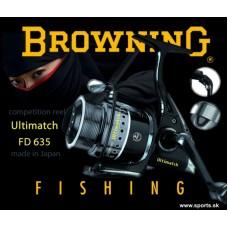 Rybársky Japonský navijak Browning Ultimatch FD 635