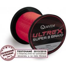 Ultrex Super 8 Braid 1000m šnúra červená