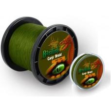 šnúra  Basilisk Carp Braid, 1400m, 11,3kg, zelená
