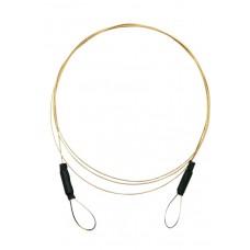 Ultratenké lanko oko na koncoch 5,4kg/50cm - cena za 5k