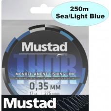 Rybárska spletená šnúra Thor Braid Lines 250m light Blu