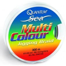 šnúra quantum multicolour braid 0,20mm/300m