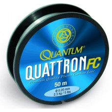 fluorokarbón quantum quattron FC  0,20mm / 50m