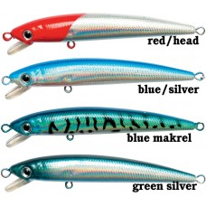 5cm, vobler Bully Minnow, red head