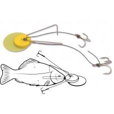 Dead Bait Jig Rig - montáž na mŕtvu rybku - 100kg