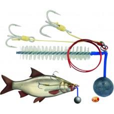Sumčiarsky systém BC R+S Baitfish Rig  80g,#1/0+2/0