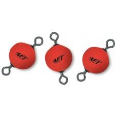 Float Connector Swivel červený 10mm