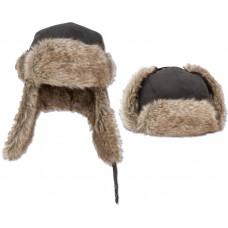 Fur Hat - pravá rybárska zateplená baranica