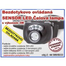 Sensor LED Headlight 3W