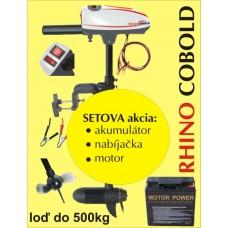 Rhino set Cobold + akumulator 17Ah/12V + nabíjačka