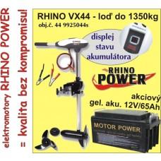 Rhino set VX-44 + akumulator 65Ah/12V