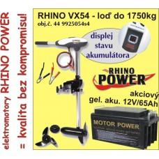 Rhino set VX-54 + akumulator 65Ah/12V