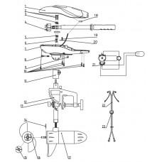 Part  1 Motorabdeckung Display-Version