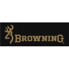 Aufkleber Browning, sch. Klein 15 x 7,5cm