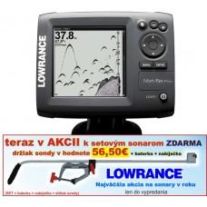 Lowrance Mark-5x Pro - dvojlúčový sonar 60°a 120°