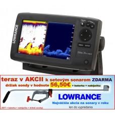 Lowrance ELITE-7X HDI  4 lúč snímanie 120°/60°/55°/30°