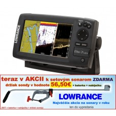 Lowrance ELITE-7 HDI s GPS 4 lúč sním. 120°/60°/55°/30°