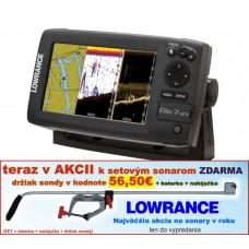 Lowrance ELITE-7 HDI s GPS 4 lúč more 90°/60°/55°/30°