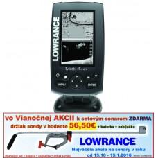 Lowrance MARK 4HDI 4lúč GPS snímanie 120°/60°/55°/30°