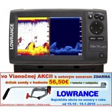 Lowrance ELITE-7X HDI  4 lúč na more 90°/60°/55°/30°