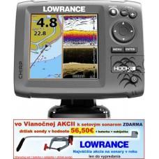 LOWRANCE Hook-5  Chirp/DSI sonar/GSP