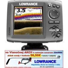 LOWRANCE Hook-5x  Chirp/DSI sonar