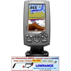 LOWRANCE Hook-4  Chirp/DSI sonar/GPS