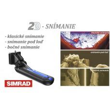 SIMRAD TotalScan™  sonda Chirp/DSI/priestorové snímanie