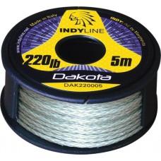 Sumcová rybárska šnúra Indy Line Dakota (GN) 220lb/5m